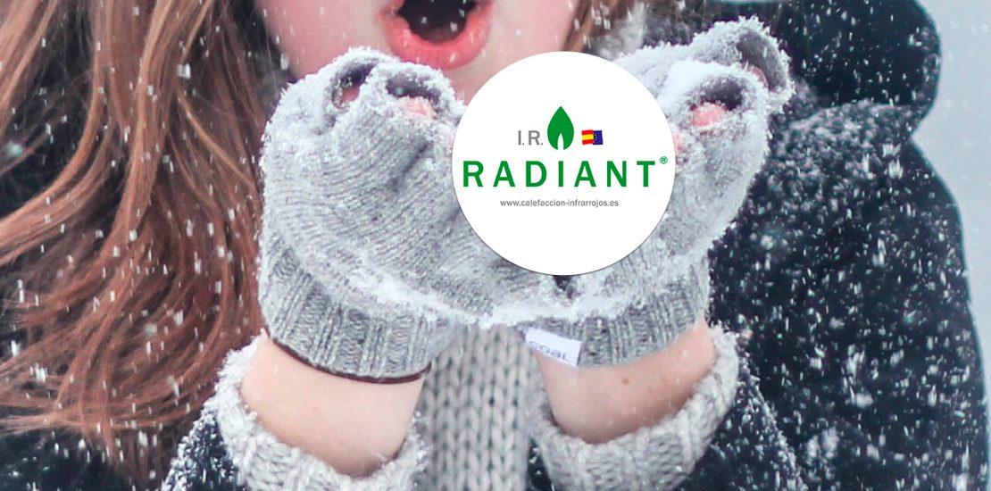 calefaccion infrarrojos en invierno