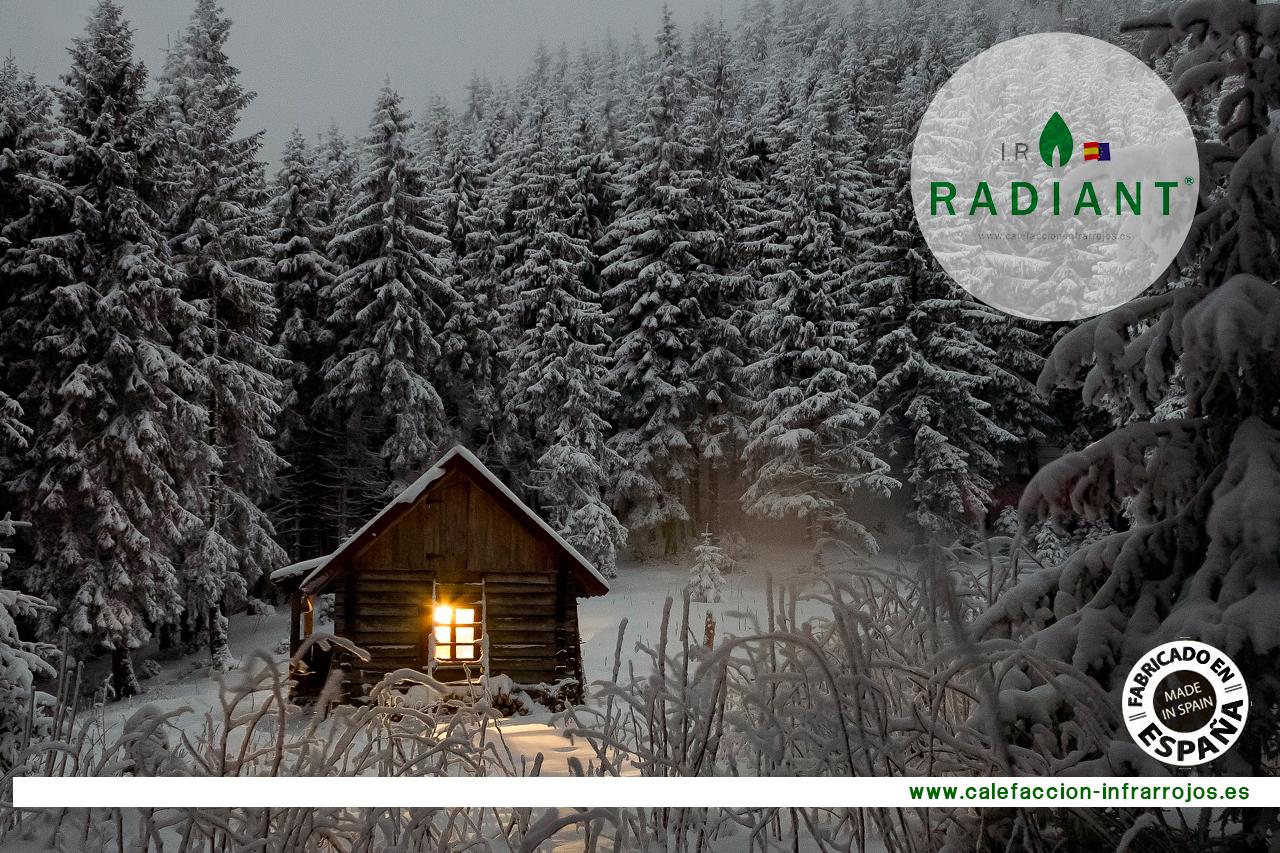 Ventajas de la calefacción por infrarrojos, lo mejor para el frio