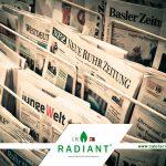 IR-Radiant en los medios.