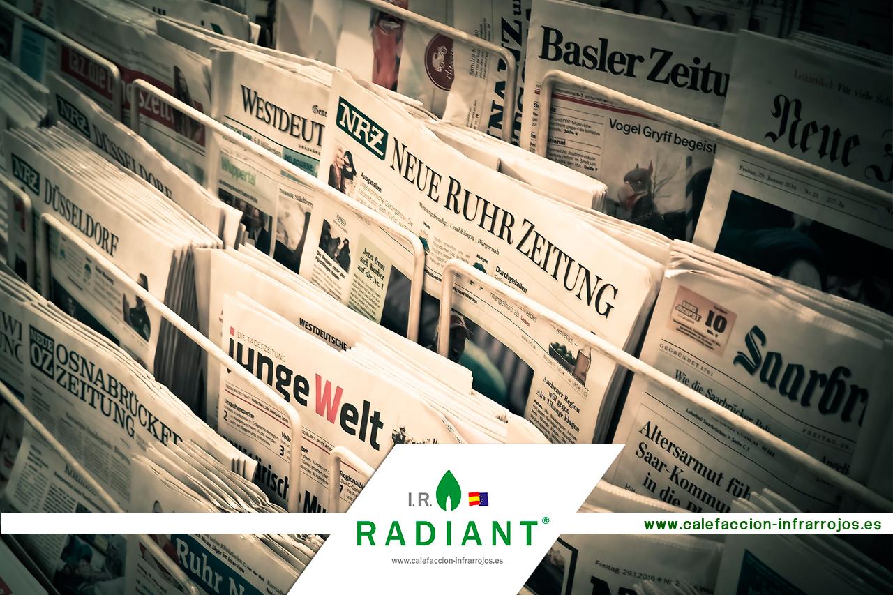 Ir radiant en los medios calefacci n infrarrojos ir radiant - Placas ceramicas calefaccion ...