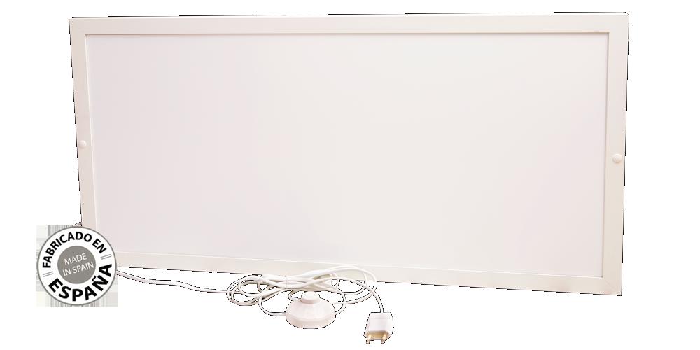 Placa de calefaccion infrarrojos bajo mesa