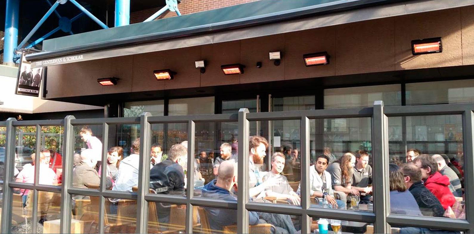 Calefaccion-infrarrojos-onda-corta-exterior-terraza-restaurante