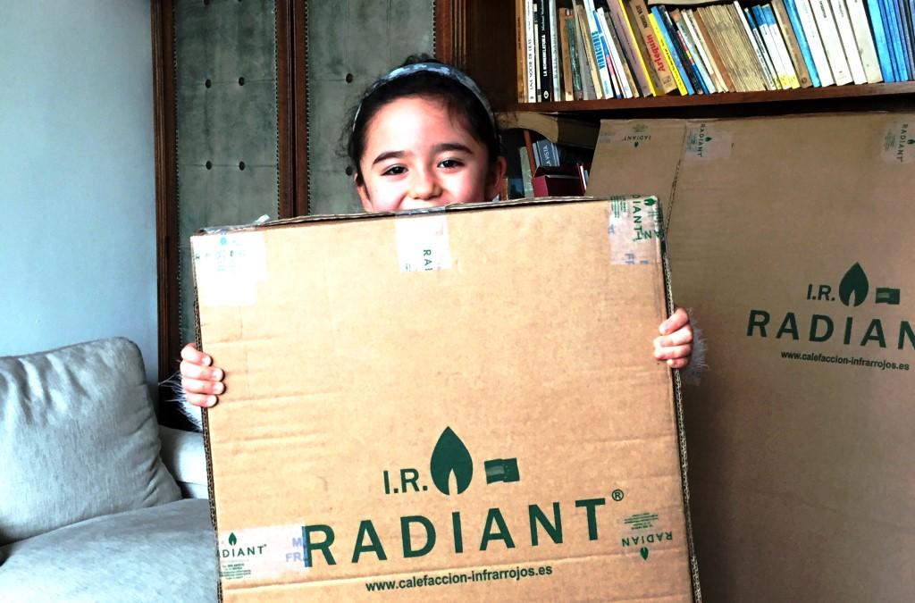 Placas de Calefacción por infrarrojos IR-Radiant en Chile
