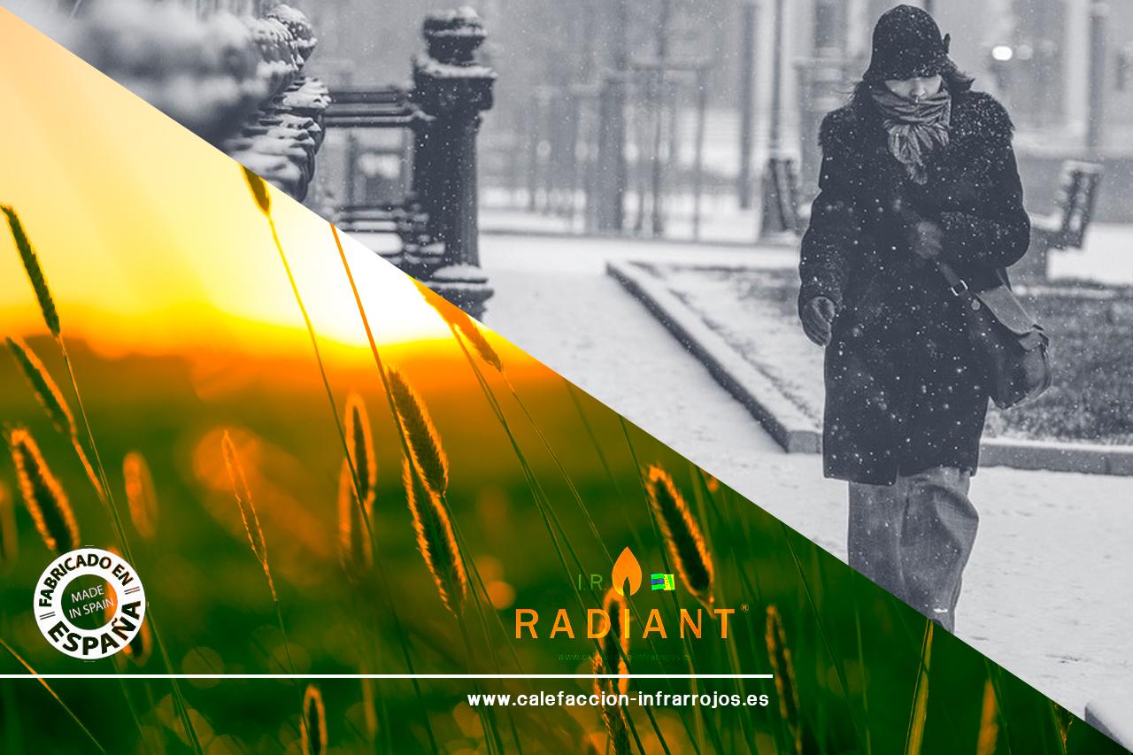 calefacción por infrarrojos de ir-radiant