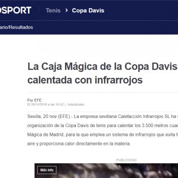 calefaccion de la caja magica noticia eurosport